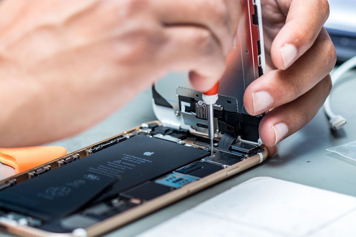Repair your iPhone